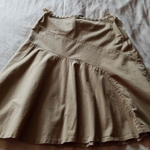 High Waist Gap Skirt